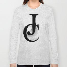 oboTypo_JC Long Sleeve T-shirt