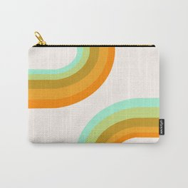Dy-no-mite - retro throwback 70s style vibes 1970s art decor minimalist surfer Carry-All Pouch