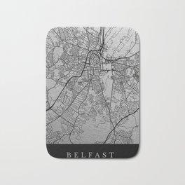 Belfast map Bath Mat