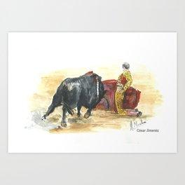 Cesar Jimenez Art Print