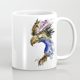 Golden Eagle - Colorful Watercolor Painting Coffee Mug