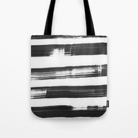 the strokes Tote Bags featuring strokes by catherineR