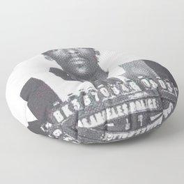 Snoop Dogg Mugshot Floor Pillow