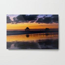 Surf City Sunset 10/26/14 Metal Print