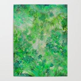 Peacefull Green Poster