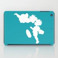 ponyo iPad Cases featuring STUDIO GHIBLI'S PONYO by The Fugu Project