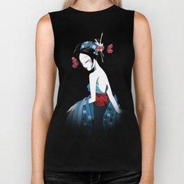 Geisha la blanche Biker Tank