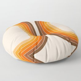 Tan Tunnel Floor Pillow