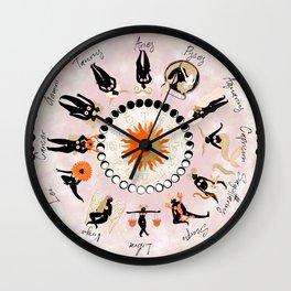 Zodiac Wheel Wall Clock