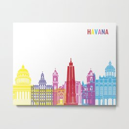 Havana skyline pop Metal Print