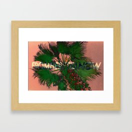 fromheretillnow II Framed Art Print