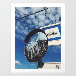 Reflected Skies Art Print