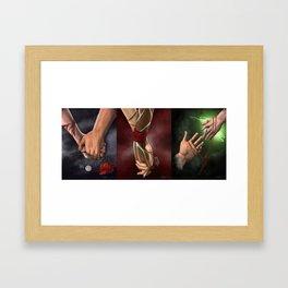 Dragon Age Romance Trilogy Framed Art Print