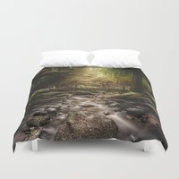 dick Duvet Covers featuring Moby dick by HappyMelvin