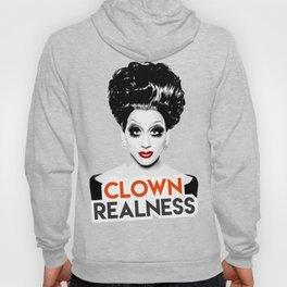 """""""Clown Realness"""" Bianca Del Rio, RuPaul's Drag Race Queen Hoody"""