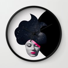 Souffle de Cheveux Wall Clock