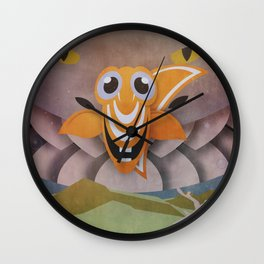 There's always a bigger Fish Wall Clock