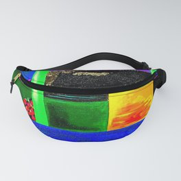 Sunrise in Ponce - Abstract Creative Fusion of Colors and Emotions Fanny Pack