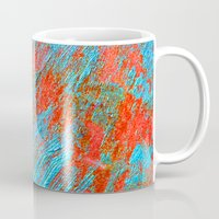 coral Mugs featuring Coral  by haroulita