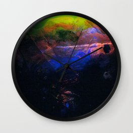 A World in Waiting Wall Clock