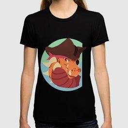 Pirate Dragon Design T-shirt