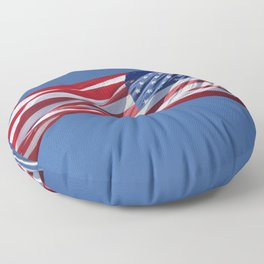 Old Glory Floor Pillow