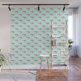 Teacup Pattern Wall Mural