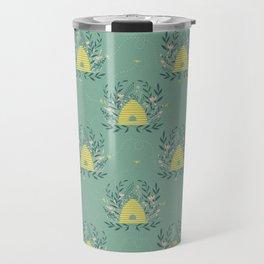 The Neighborhood Buzz - Light Green Travel Mug