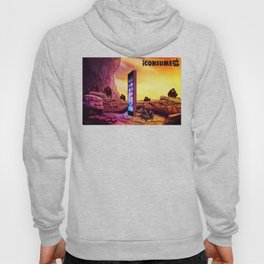 Ape Men meet iPhone Monolith - 2001 A Space Odyssey iCONSUME Hoody