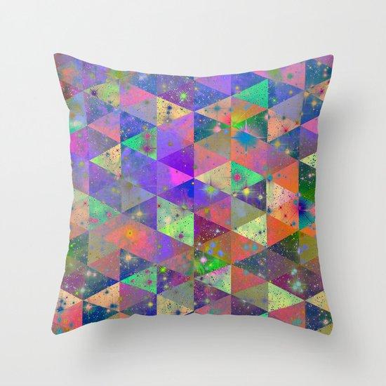 Triangulum Throw Pillow