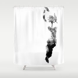 figuratively Shower Curtain