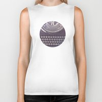 typewriter Biker Tanks featuring Typewriter by Jessica Torres Photography