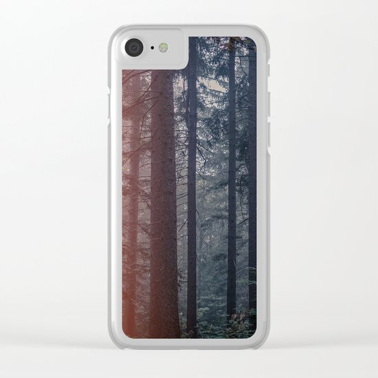 Mystic Woods Clear iPhone Case