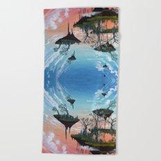 Aura Beach Towel