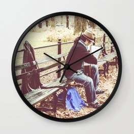 Central park music Wall Clock