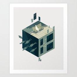Cube 01 Art Print