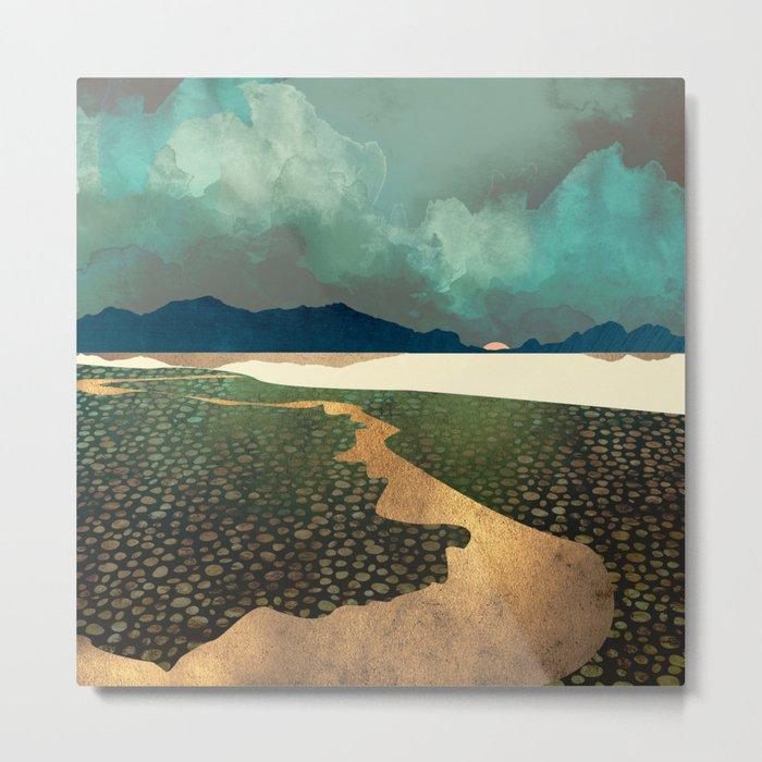 Distant Land Metal Print