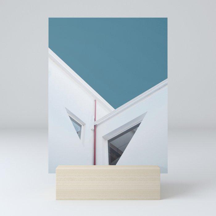 Minimal Architecture in Buenos Aires Mini Art Print