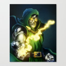 Dr. Doom - Marvel Villain Series Canvas Print