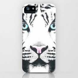 Blue Eyed Boy iPhone Case