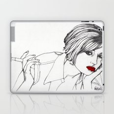 Girl With The Mont Blanc Laptop & iPad Skin