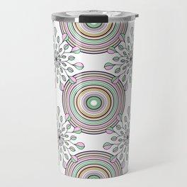 spring pattern Travel Mug