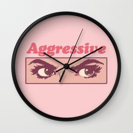 Aggressive Wall Clock