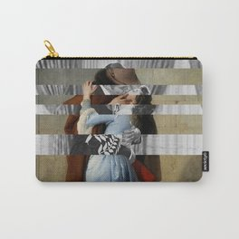 "Hayez's ""The Kiss"" & Clark Gable and Vivien Leigh Carry-All Pouch"