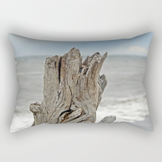 Looking past the Driftwood Rectangular Pillow