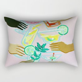 Better With Friends Rectangular Pillow