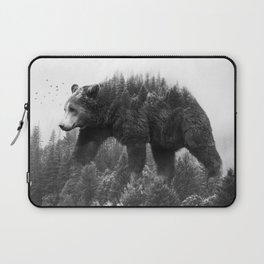 Walking trough the forest Laptop Sleeve