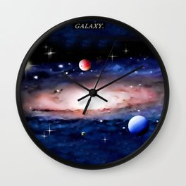 GALAXY. Wall Clock