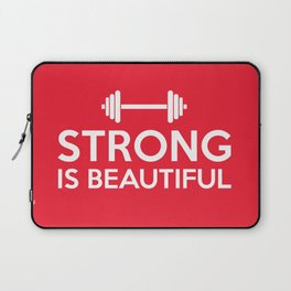 Strong is beautiful Laptop Sleeve