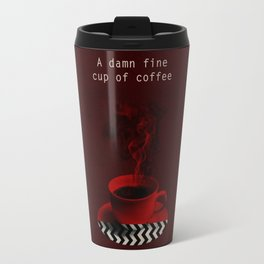 """Twin Peaks"" - A damn fine cup of coffee Travel Mug"